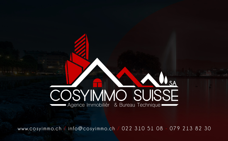 Agence immobilière bureau technique cosyimmo suisse